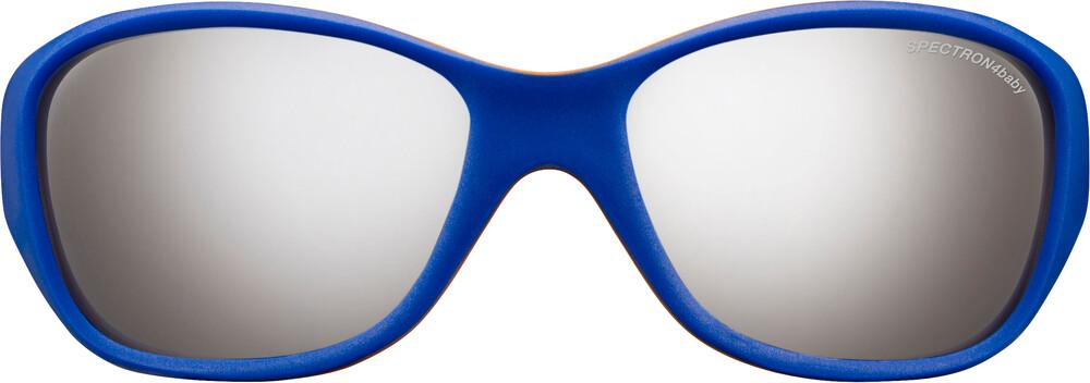 Julbo Solan Spectron 4 Sunglasses Kids 4-6Y Blue/Orange-Gray Flash Silver 2018 Sonnenbrillen m29X8KTi
